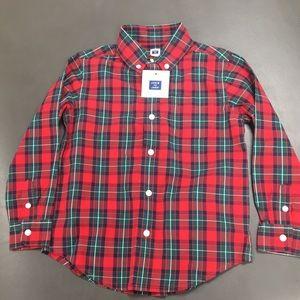 NWT Janie and Jack Size 4 Long Sleeve Shirt